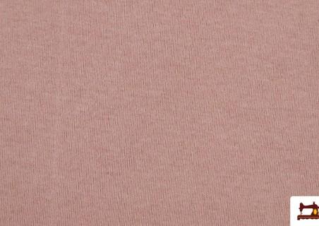 Comprar Tela de Punto Sudadera Fino Colores Suaves color Rosa matices