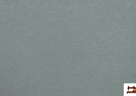 Venta de Tela de Punto Sudadera Fino Colores Suaves color Verde mar