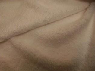 Tela de Rizo Algodón Americano color Blanco