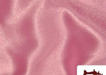 Tela de Toalla de Rizo Algodón Americano Rosa Pálido