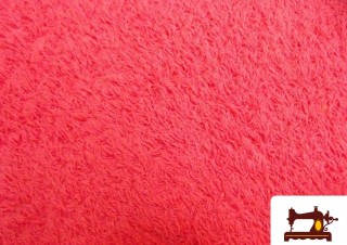 Tela de Rizo Algodón Americano color Fuxia