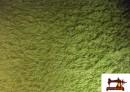 Tela de Rizo Algodón Americano color Pistacho