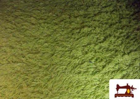 Tela de para Toallas 100% Algodón color Pistacho