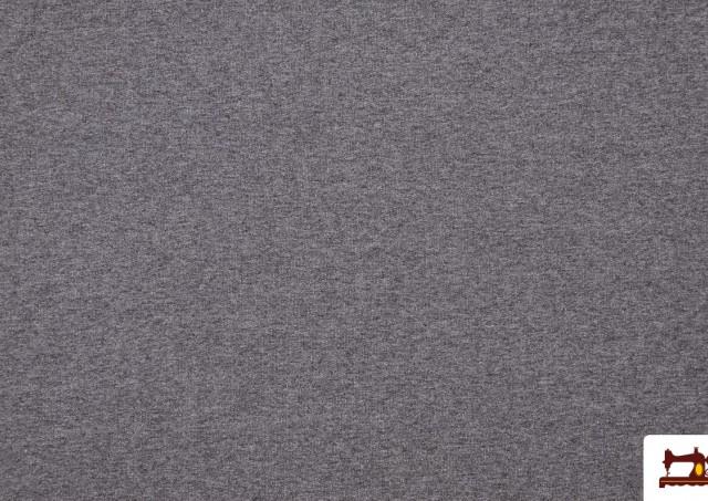 Venta de Tela de Sudadera Fina de Colores French Terry color Gris claro