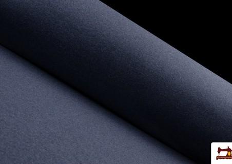 Comprar Tela de Sudadera Fina de Colores French Terry color Azul Marino