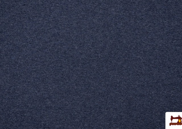 Venta de Tela de Sudadera Fina de Colores French Terry color Azul Marino
