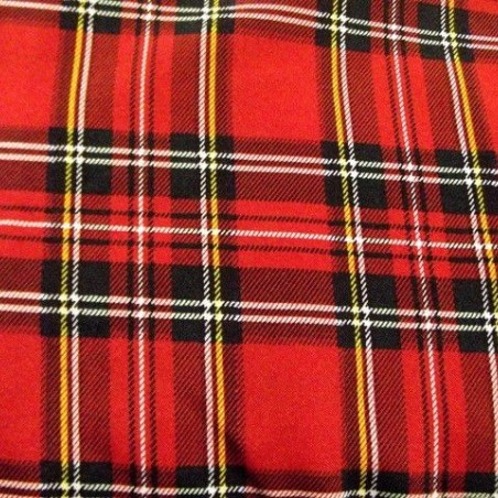 Tela de Cuadros Escoceses