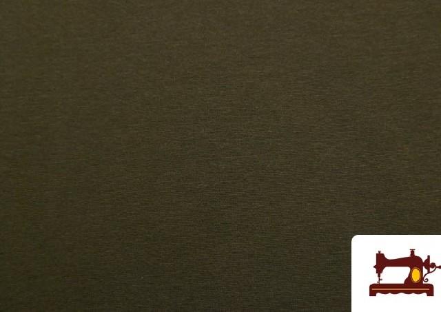 Comprar Tela de Sudadera Flannel Lisa de Colores color Caqui