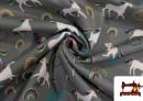 Tela de SOFTSHELL estampado Unicornios