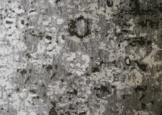 Tela de Terciopelo Chenilla Estampada Tie-Dye Para Tapizar