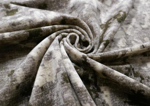 Comprar online Tela de Terciopelo Chenilla Estampada Tie-Dye Para Tapizar