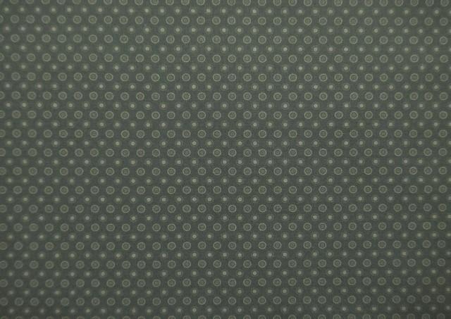 Venta de Tela de Algodón Estampada Circulos color Caqui