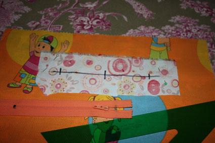 Como coser un bolsillo con cremallera